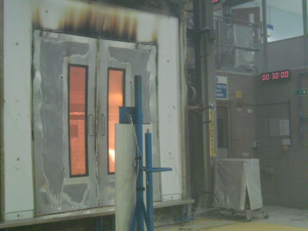 Fire Testing MIDDAS Interior Solutions